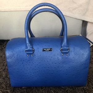 Kate Spade leather bag with ostrich emboss